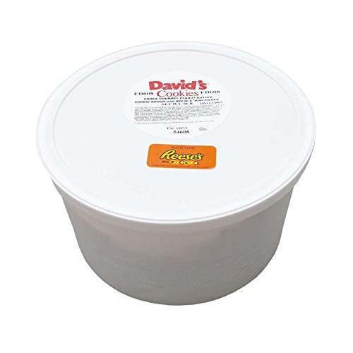 David's Edible Peanut Butter Cookie Dough with Reese's Mini Pieces 8 lb (Pack of 2) by David's Cookies (Image #1)