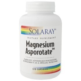 Solaray - Magnesium Asporotate, 200 mg, 120 capsules