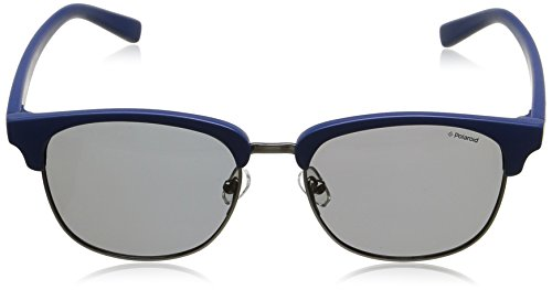Bleu Homme soleil PLD Polaroid Lunette Grey de 1012 S Blue Ronde wqq8O0E