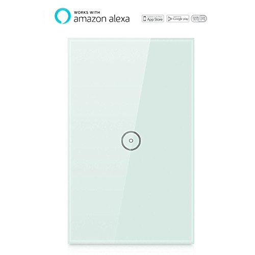 Smart wi fi wall switch touch screen switch glass panel - Control lights with smartphone ...