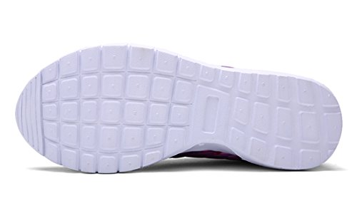 ECOTISH Unisex Fashion Camouflage Mesh Schuhe Casual Flat Sneaker Leichte Walking Athletic Schuh Breathable Laufschuhe (Tag Size 40 - UK Size 6.5, Leuchtendes Grün)