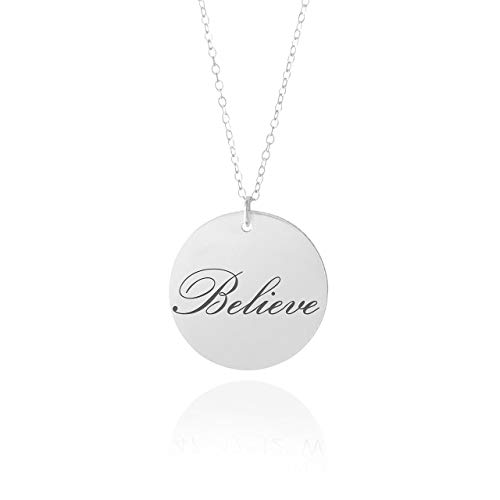 Believe Necklace - 5/8