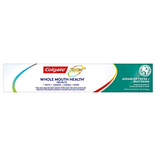 Colgate Total Advanced Fresh + Whitening Gel Toothpaste, 4 Count by Colgate (Image #8)