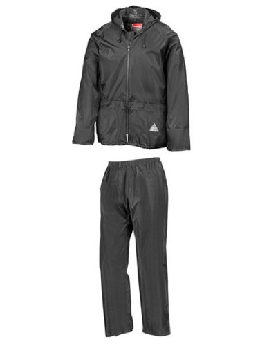 Traje de lluvia (chaqueta y pantalones) completamente impermeable