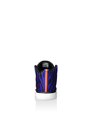 adidas Herren Veritas High-Top, Weiß schwarz / orange / blau