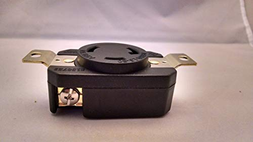 NEMA L5-30R Locking Receptacle 120V, 30A by Powertronics Connections - 30 L5 Nema
