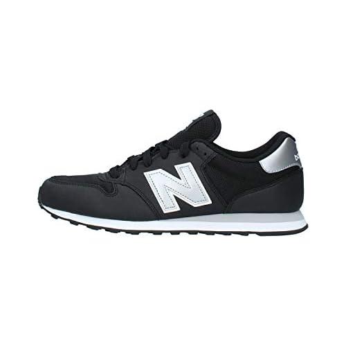 chollos oferta descuentos barato New Balance 500 Core Zapatillas para Hombre Negro Black Silver Black Silver 43 EU