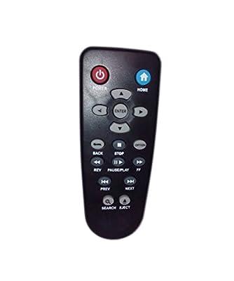 Replaced Remote Control Compatible for Western Digital WD TV Live Digital Full HD Media Streamer WDBAAP0000NBK WDBAAN0000NBK WDBAAN0000NBK-00