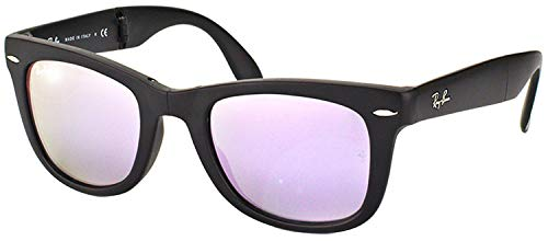 Ray-Ban RB4105 Wayfarer Folding Sunglasses, Matte...