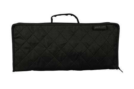 Yazzii Craft Tote 'Petite Organizer Extra Long/XL' - Black by Yazzii