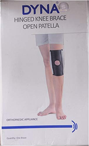 1564281c46 Buy Dyna Open Patella Hinged Knee Brace - XL Online at Low Prices in India  - Amazon.in