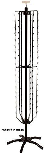 Flat Clipper-108 Position-Floor Spinner-White - Chips, Beef Jerkey Snack -
