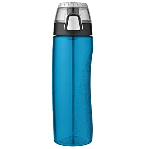 Thermos HP4100TLTRI6 24 Ounce Tritan Hydration Bottle with Meter, Teal