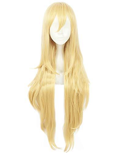 C-ZOFEK Star Butterfly Long Blonde Cosplay Wig (Blonde) -