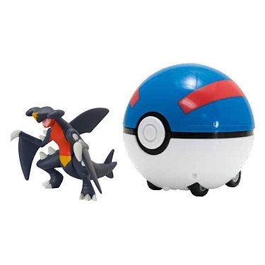 Pokemon Super Catch 'n' Return Poke Ball - Garchomp and Great Ball by Pokemon Catch n Return ball