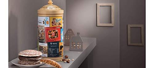 Lebkuchen Schmidt Vintage Style Advertising Tin filled with Nuremberg Lebkuchen Gingerbread
