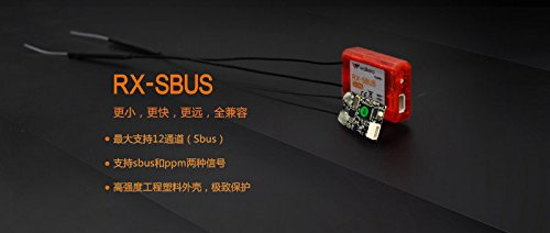 10 Walkera Receiver RX-SBUS without Shell Support PPM for DEVO7 F12E Transmitter F7