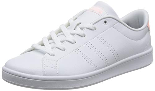 Footwear White Footwear Damen Orange QT Clean Weiß Sneaker adidas Clear Advantage 0 White BAwzqpz8