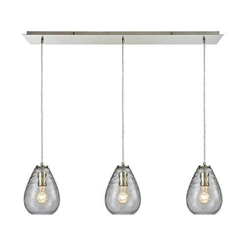 Elk Lighting 10760/3LP Pendant Light, Satin ()