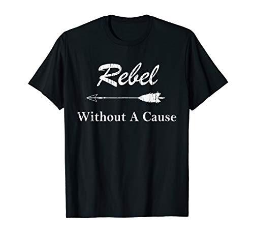 Distressed Rebel Without A Cause T-Shirt