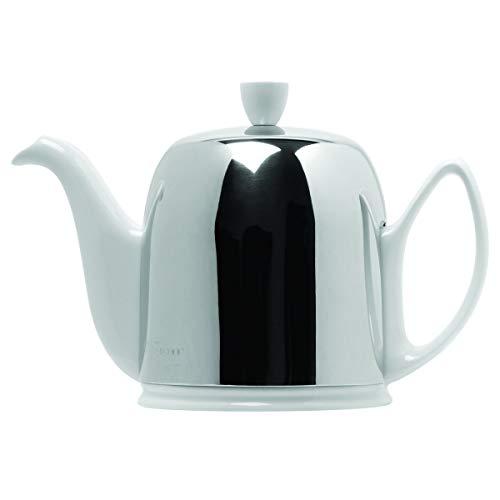 DEGRENNE -  SALAM WHITE Tea Pot 6 Cups, 33 oz 13/16