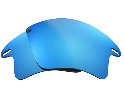 Replacement Lenses Compatible with OAKLEY Fast Jacket XL Polarized Blue Mirror