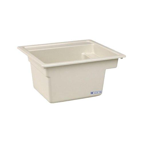 Mustee 25BT Vector Multi Task Sink, 22-Inch x 25-Inch, Biscuit