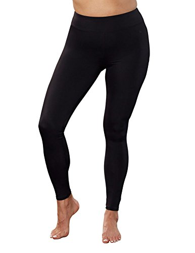 - Aquabelle Women's Plus Size Lycra Xtra Life Legging 18 Black