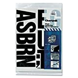 ** Press-On Vinyl Uppercase Letters, Self Adhesive, Black, 4''h, 58/Pack **