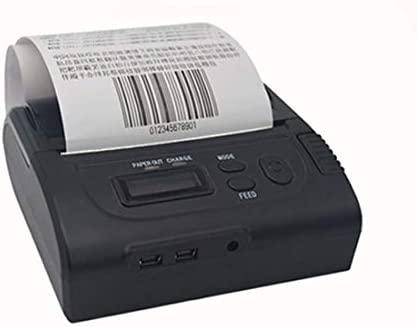 Impresora térmica de 80 mm Bluetooth portátil + Impresora ...