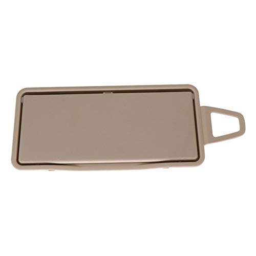 Left Side Sun Visor Mirror with Frame+ Cover for Mercedes Benz W212 (Beige) ()