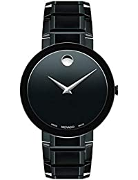 Men's Sapphire Black Pvd Case with a Black Dial on a Black Pvd Bracelet (Model:0607179)