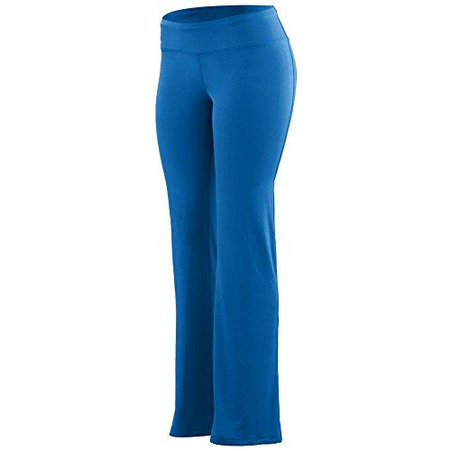 Augusta Sportswear Girls' Wide Waist Poly/Spandex Pant L Royal