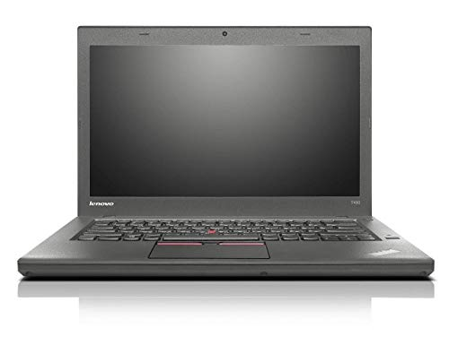 (2019 Lenovo ThinkPad T450 14in HD Business Laptop Computer, Intel Dual-Core i5-5300U Up to 2.9GHz, 8GB RAM, 256GB SSD, HDMI, 802.11ac WiFi, Bluetooth, Windows 10 Professional (Renewed))