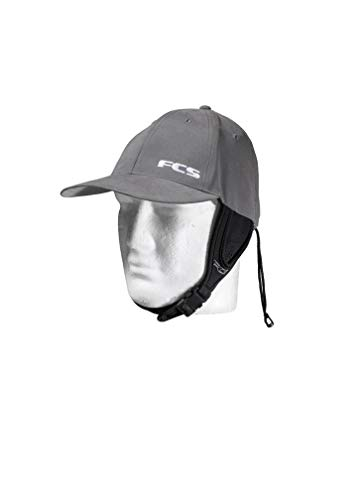 FCS Wet Baseball Cap Surf Hat - Gun Metal - Large -- Designed to Stay  Secure in The surf and Provide Protection Against Sun c74443a5561c