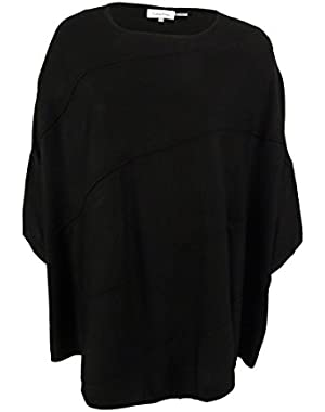 Calvin Klein Women's Poncho Sweater
