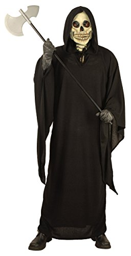 Grim Reaper Adult Costume - Plus Size 1X - Grim Reaper Plus Size Adult Mens Costumes