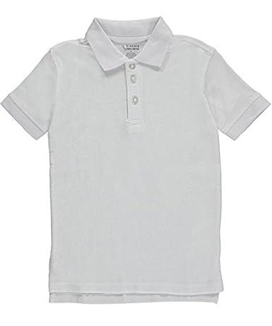 Classic School Uniform Little Boys Pique Polo