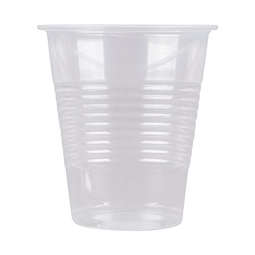 [9 oz | 960 Pack] Clear Plastic Cups Disposable Translucent Thin Drinking Cup, BPA Free