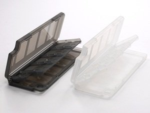 Bluecell-Clear-Gray-GameMemory-Card-protection-hard-case-for-sony-PS-Playstation-Vita