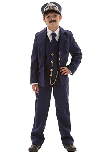 Child Polar Express Conductor Small]()