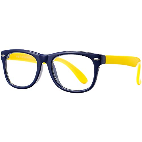 Pro Acme Kids Blue Light Glasses for Girls Boys Unbreakable Frame (2-10 Years)