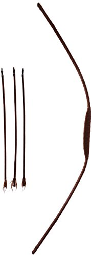 HMS 48 Inch Western Ranger Bow and Arrow Set, Brown, One Size