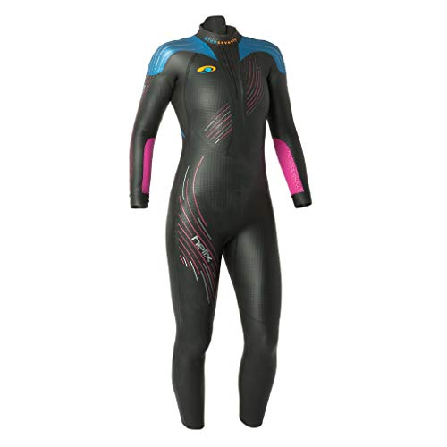 John Triathlon Wetsuit (blueseventy 2019 Women's Helix Triathlon Wetsuit - for Open Water Swimming - Ironman & USAT Approved - (WML))
