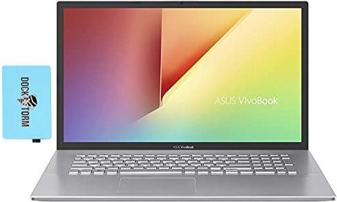 ASUS VivoBook 17 Home & Business Laptop (Intel i7-1065G7 4-Core, 40GB RAM, 1TB PCIe SSD, Intel HD 610, 17.3″ HD+ (1600×900), WiFi, Bluetooth, Webcam, 1xUSB 3.2, 1xHDMI, Win 10 Pro) with Hub