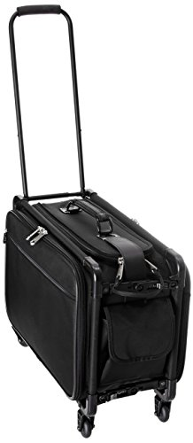TUTTO 20 Inch Retulation Carry-On, Black, One Size ()