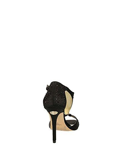 Liu Jo sandalia Mujer Clio Tacòn Cm 10 Cristal Satin Negro