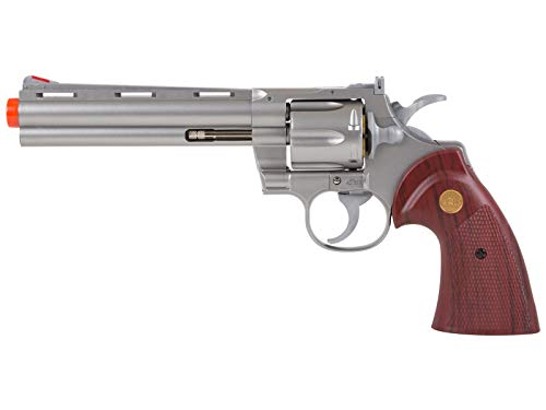 """TSD Zombie Killer .357 6"""" Replica Spring Airsoft Revolver BB Gun (Silver)"""