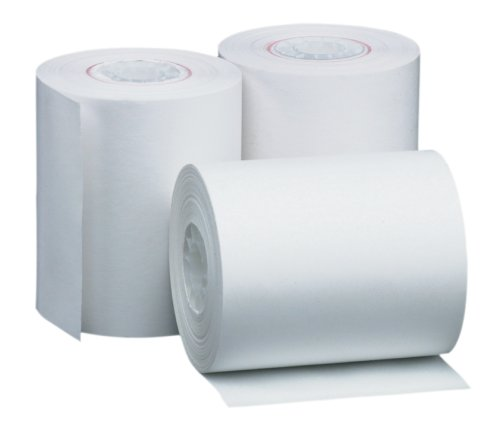 PM Company Perfection POS/Black Image Thermal Rolls, 2.25 Inches x 85 Feet, White, 72/Carton (05233)