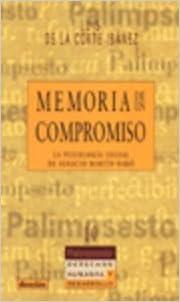 Memoria de un compromiso. La psicología social de Ignacio Martín-Baró (R) (2001)